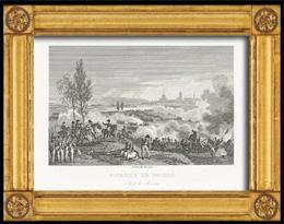 Napoleonische Kriege - Koalitionskriege - Die Schlacht von Dresden - Tod von Moreau (1813)