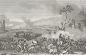 Stich von Napoleonische Kriege - Koalitionskriege - Die Schlacht bei Lützen, auch Die Schlacht bei Großgörschen (1813)