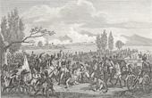 Stich von Napoleonische Kriege - Koalitionskriege - Die Schlacht bei Aspern - Tod des Marschalls Lannes (1809)