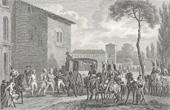 Stich von Napoleonische Kriege - Koalitionskriege - Konferenzen von Udine - Friede von Campo-Formio (1797)