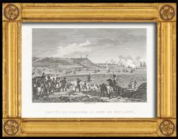Napoleonische Kriege - Koalitionskriege - Ankunft von Napoleon am Lager von Boulogne (1804)