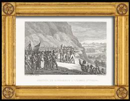 Napoleonische Kriege - Koalitionskriege - Ankunft Napoleon Bonaparte an der Italienischen Armee (1796)