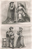 French Fashion and Costumes - 15th Century Style XV - Agnes Sorel - Court of the King of France - Charles VII (1430)