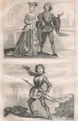 French Fashion and Costumes - 15th Century Style XV - Joan of Arc - Court of the King of France - Charles VII (1430)