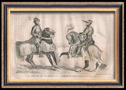 Französische Mode und Militärische Kostüme - Pierre de Rohan - Königliche Gericht - Ludwig XII, König von Frankreich (1500)