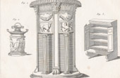 Plate 316 of the Methodical Encyclopedia - Antiquities - Ancient Greece - Ancient Rome - Ancient Egypt - Art and Pieces of Furniture