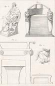 Stich von Plate 311 von die Große Enzyklopädie von Diderot und d�Alembert - Die Altertümer - Geschichte Griechenlands - Antikes Rom - Altes Ägypten - Kunst und Möbel