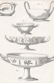 Stich von Plate 181 von die Große Enzyklopädie von Diderot und d'Alembert - Die Altertümer - Geschichte Griechenlands - Antikes Rom - Altes Ägypten - Kunst -Vasen und Keramiken