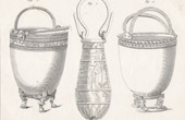 Plate 180 of the Methodical Encyclopedia - Antiquities - Ancient Greece - Ancient Rome - Ancient Egypt - Art - Vases and Ceramics