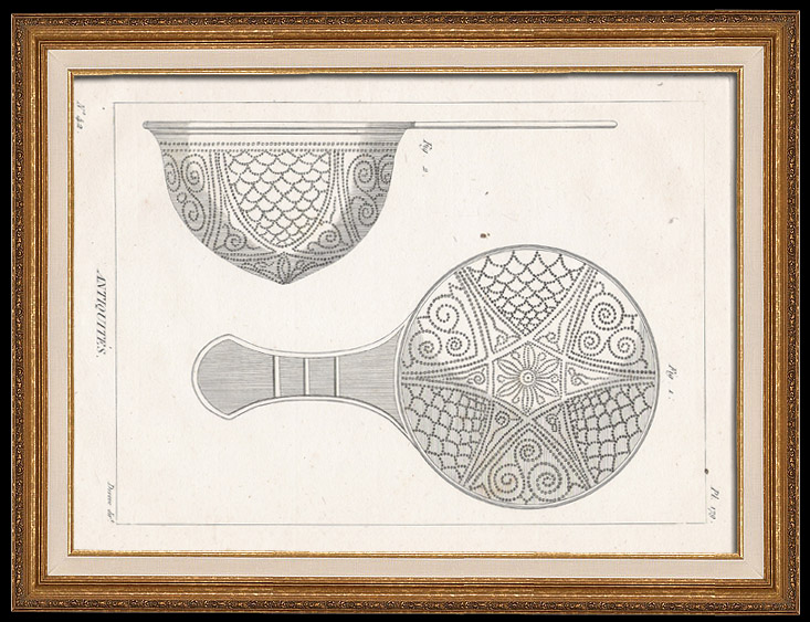 Antique Prints & Drawings   Plate 179 of the Methodical Encyclopedia - Antiquities - Ancient Greece - Ancient Rome - Ancient Egypt - Art - Vases and Ceramics   Copper engraving   1786