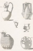Plate 176 of the Methodical Encyclopedia - Antiquities - Ancient Greece - Ancient Rome - Ancient Egypt - Art - Vases and Ceramics