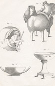 Plate 168 of the Methodical Encyclopedia - Antiquities - Ancient Greece - Ancient Rome - Ancient Egypt - Art - Vases and Ceramics