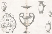 Plate 177 & 178 of the Methodical Encyclopedia - Antiquities - Ancient Greece - Ancient Rome - Ancient Egypt - Art - Vases and Ceramics