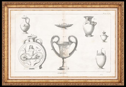 Plate 177 & 178 von die Gro�e Enzyklop�die von Diderot und d�Alembert - Die Altert�mer - Geschichte Griechenlands - Antikes Rom - Altes �gypten - Kunst -Vasen und Keramiken