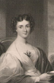 Portrait of Mrs Fletcher late Maria Jane Jewsbury (1800-1833)