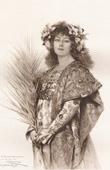 Portrait of Sarah Bernhardt - Role of Gismonda (Théobald Chartran)