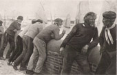 Port - Fishing - Fishermen - Le Treport : The Old Men (Albert Aublet)