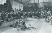 Greco-Roman Wrestling -  At Marseilles - Chez Marseille (Leon Maxime Faivre)