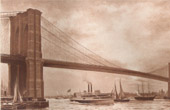 Hängbro - Brooklyn Bridge (Emile Renouf)