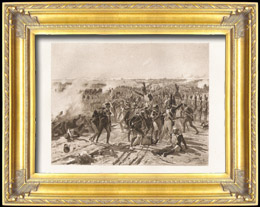 Napoleon - Die Schlacht bei Aspern - Grenadiere des Kaiserliche Garde Napoleons (Fernand Cormon)