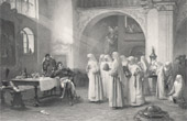 Napoleon - Marshal of France - Marshal Lannes at the Convent of Sankt Pölten (Albert-Pierre Dawant)