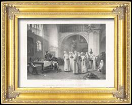 Napoleon - Marschalls Lannes an Kloster von Sankt P�lten (Albert-Pierre Dawant)