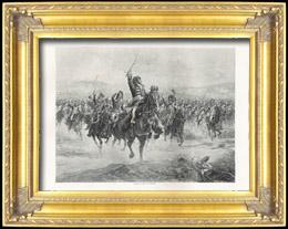 Napoleon - Marschall von Frankreich - Marschall Murat an der Schlacht bei Jena und Auerstedt (Henri Chartier)