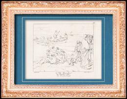 Mythologie  - Geschichte Griechenlands - Italienische Renaissance - Der Wunderbare Fischzug (Raffaello Sanzio auch Raffael)