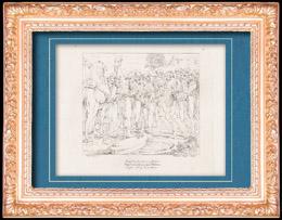 Italienische Renaissance - Bibel - �gypten - Josef Verkauft Von Seinen Br�der an die �gyptischen H�ndler (Raffaello Sanzio auch Raffael)