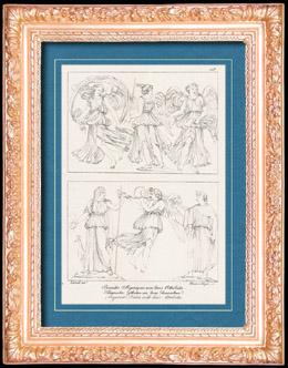 R�mische / Griechische Mythologie - G�ttin - Italienische Renaissance - Allegorische Gottheiten mit Ihren Eckennzeichen (Raffaello Sanzio oder Raffael)