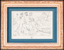 Griechische Mythologie - Satyrn - Griechischer Gottheiten - Italienische Renaissance - Silen, Gef�hrte von Dionysos, Gott des Weins (Raffaello Sanzio oder Raffael)