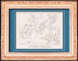 R�mische Mythologie - Gott - G�ttin - Italienische Renaissance - Jupiter von Juno Begleiter Nimmt Besitz des   Himmels Thron (Raffaello Sanzio oder Raffael)