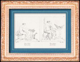 Griechische Mythologie - Römische Mythologie - Engel - Göttin - Cupido - Italienische Renaissance - Aphrodite - Venus und Liebe (Raffaello Sanzio oder Raffael)