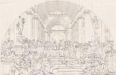 Stich von IN-FOLIO (Raisin / Weintraube) - Griechische Mythologie - Antikes Griechenland - Italienische Renaissance - Die Schule von Athen, oder die Philosophie (Raffaello Sanzio oder Raffae