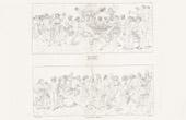 Stich von IN-FOLIO (Raisin / Weintraube) - Mythologie - Italienische Renaissance - Die Geschichte von Amor und Psyche (Cupido) : Die Hochzeit von Psyche / Die Apotheose von Psyche (Raffaello