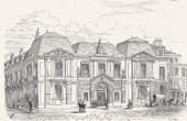 View of Paris - Historical Monuments of Paris - Hôtel Carnavalet