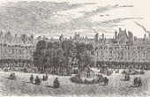 View of Paris - Historical Monuments of Paris - Place Royale (Place des Vosges)