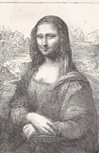 Louvre - Italian Renaissance - Mona Lisa, also known as La Gioconda (Leonardo Da Vinci)