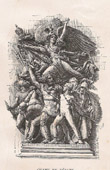 Arc de Triomphe of Paris - Le D�part des Volontaires - La Marseillaise (Fran�ois Rude)