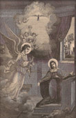 The Incarnation : The Archangel Gabriel's Annunciation to the Blessed Virgin Mary in Nazareth
