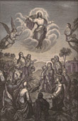 The Ascension of Jesus on the Mount of Olives