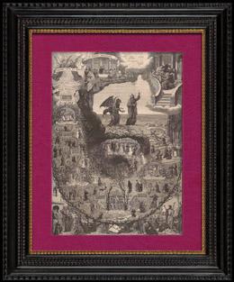 Satan�s Tienta a Jes�s Cristo en el Desierto - Lucifer - Demonio
