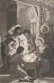 Jesus - Nativity - The Adoration of the Shepherds (William Bouguereau)