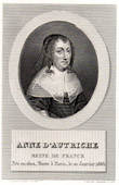 Portrait of Anne of Austria (1602-1666)