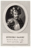 Portrait of Hugues Capet (940-996)