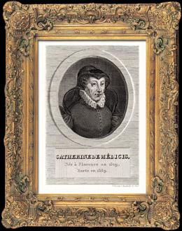 Porträt von Katharina von Medici (1519-1589)