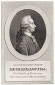 Portrait of De Crebillon fils (1707-1777)