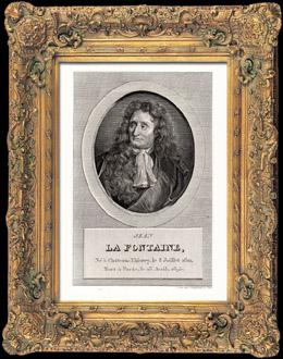 Porträt von La Fontaine (1621-1695)