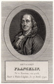 Portrait de Franklin (1706-1790)