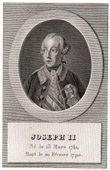 Portrait of Joseph II (1741-1790)